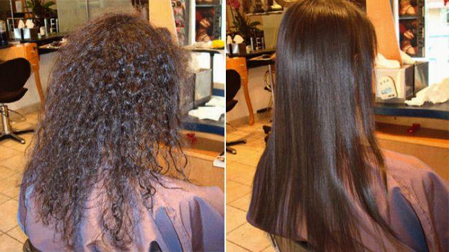 Ispravljanje kose keratinom